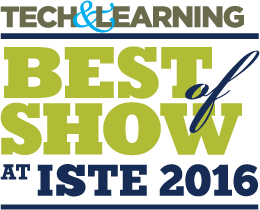2016 ISTE Best in Show, Upgraded Products logo
