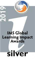 Silver Medal, IMS Global Learning Impact Report logo